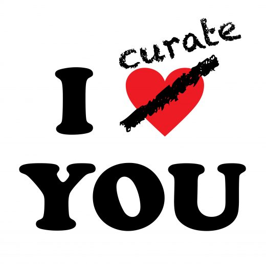 I curate you