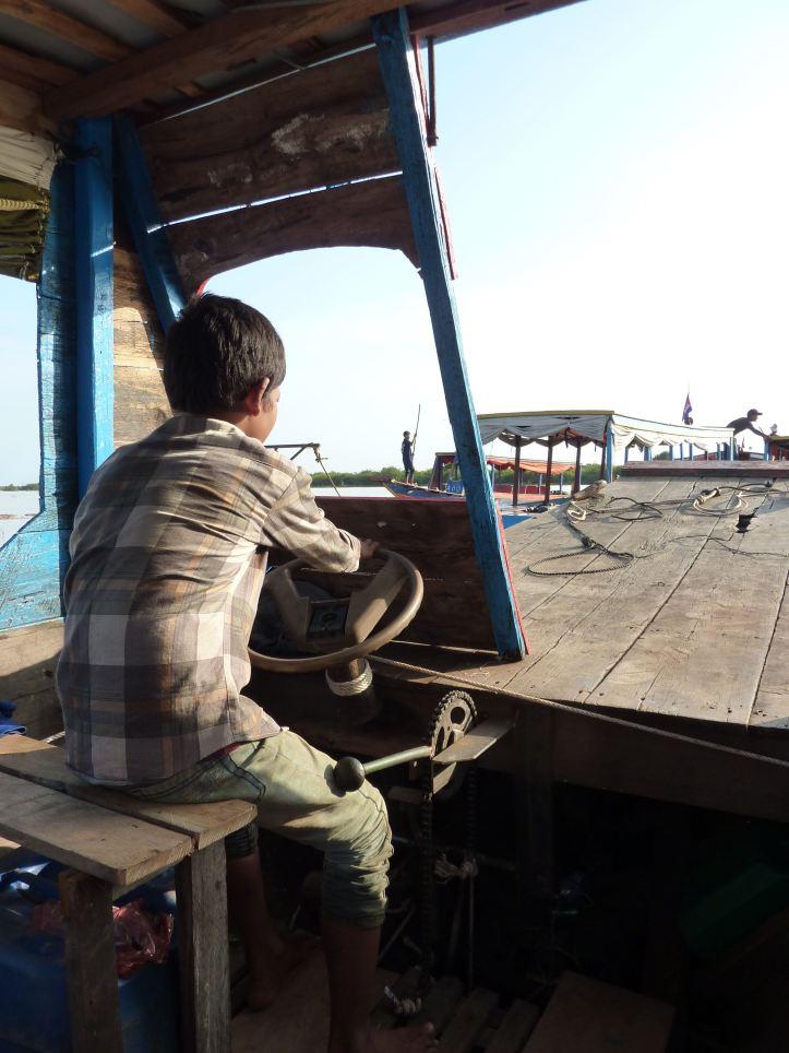 boat driver boy